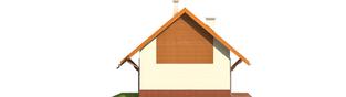 Projekt domu Raissa - elewacja lewa
