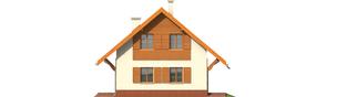 Projekt domu Raissa - elewacja prawa
