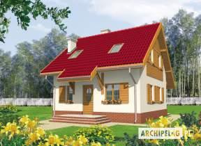 Projekt domu Raissa - animacja projektu
