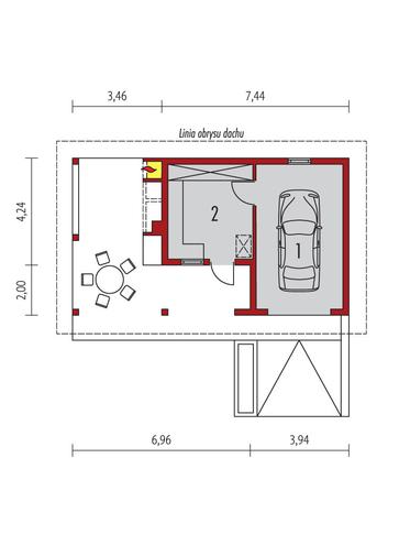 Garaż G27: Parter