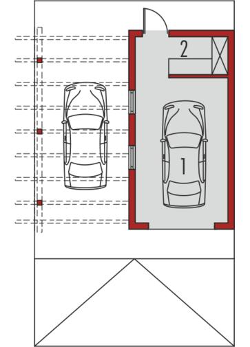 Garaż G33: Parter