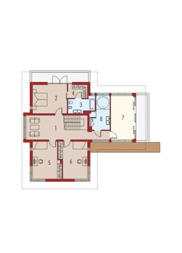 Leonardo G2: Piętro I