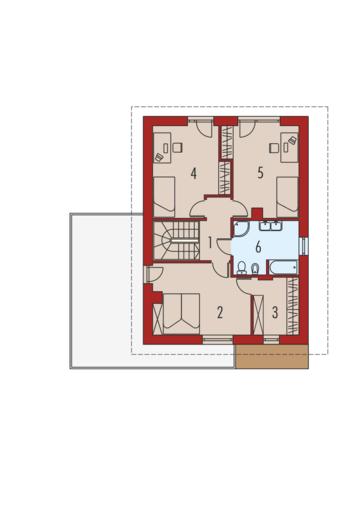 Hilda G1: Piętro I
