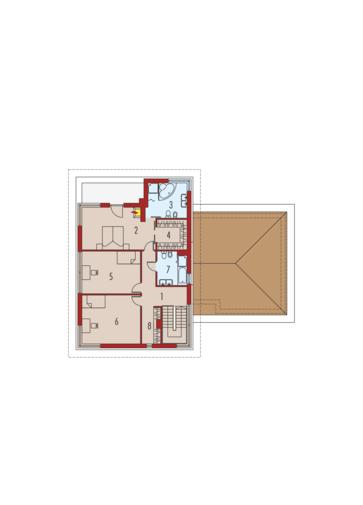 Diego G2 Leca® DOM: Piętro I