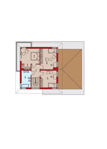 Rodrigo III G1: Piętro I