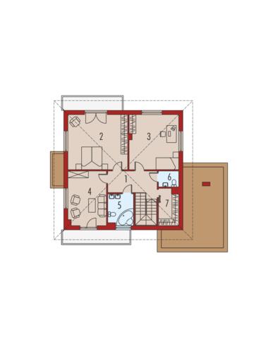 Dao G1: Piętro I