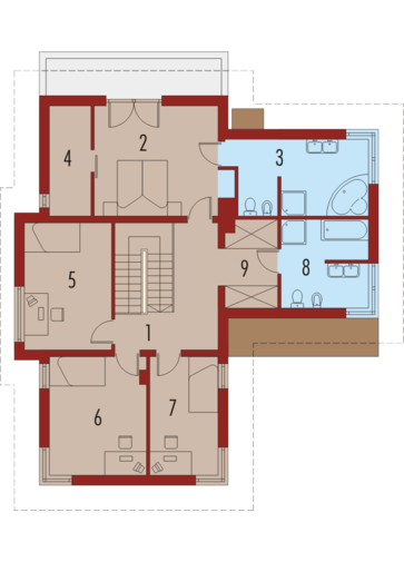 Tom G1: Piętro I