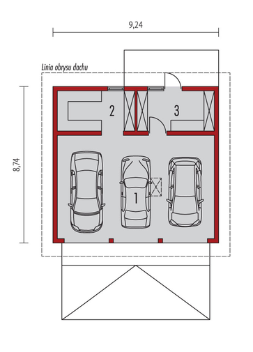 Garaż G29: Parter