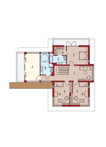 Lorenzo G2: Piętro I