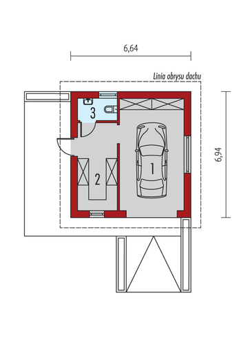 Garaż G22: Parter