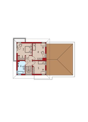 Rodrigo II G2: Piętro I