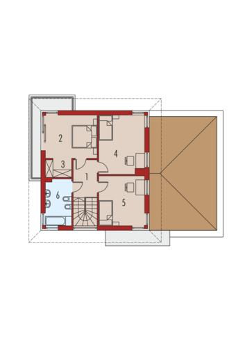 Rodrigo II G1: Piętro I