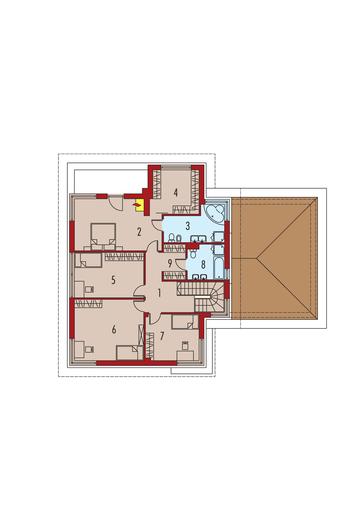Diego II G2: Piętro I