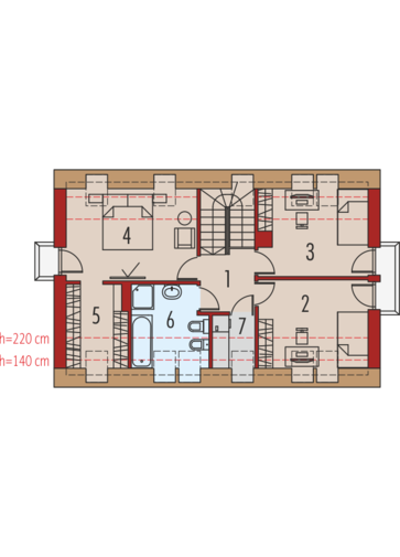 E11 MULTI-COMFORT: Poddasze