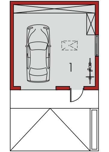 Garaż G37: Parter