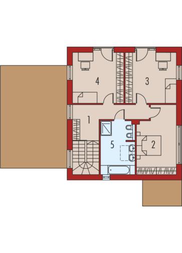 EX 12 (z wiatą) soft: Piętro I