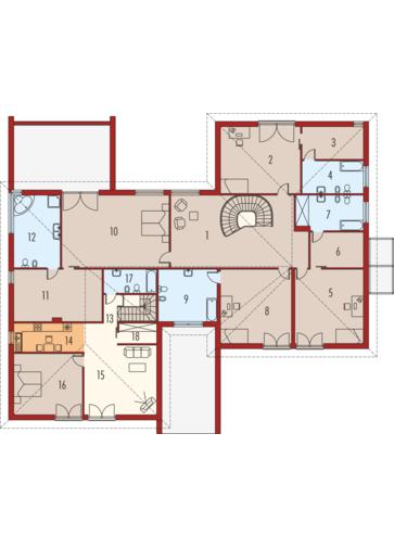 Kaj G2: Piętro I