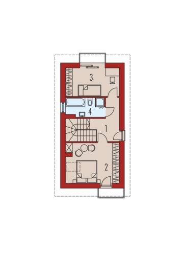 Moniczka: Piętro I