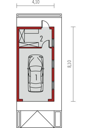 Garaż G23: Parter