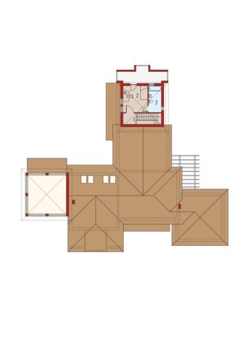 Dionizy (mały) G2: Piętro I