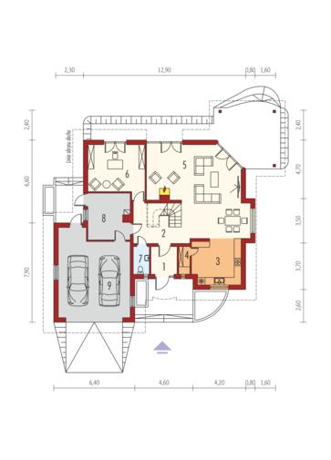 Seweryna (mała) G2: Parter