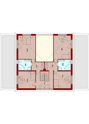 Henia G2: Piętro I
