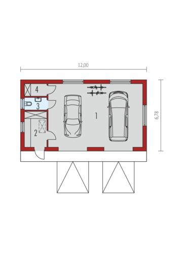 Garaż G22 01: Parter