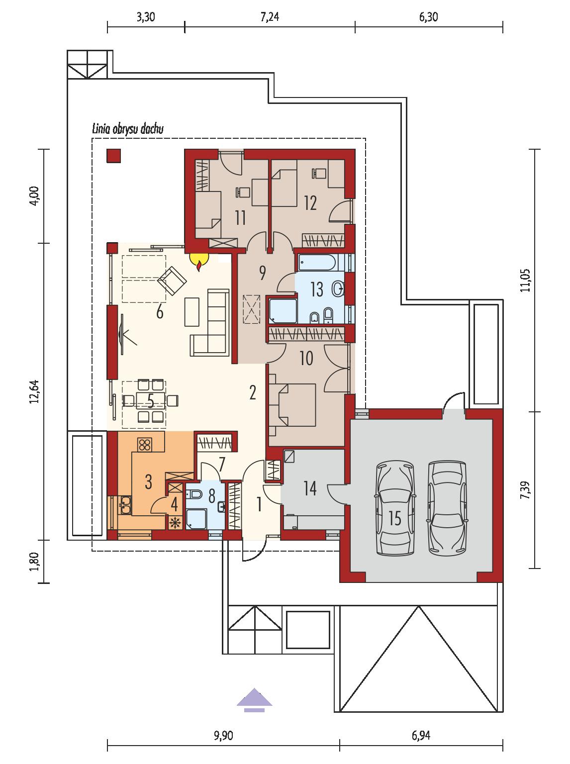 daniel iii g2 projekt domu archipelag