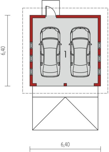 Garaż G5: Parter
