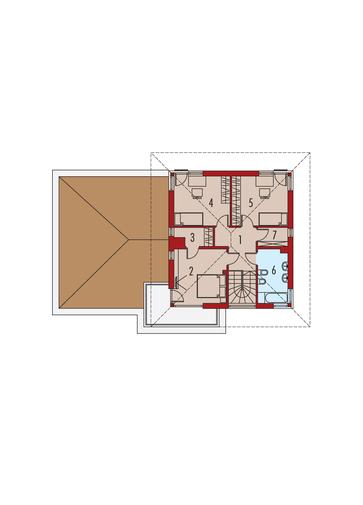 Rodrigo IV G2: Piętro I