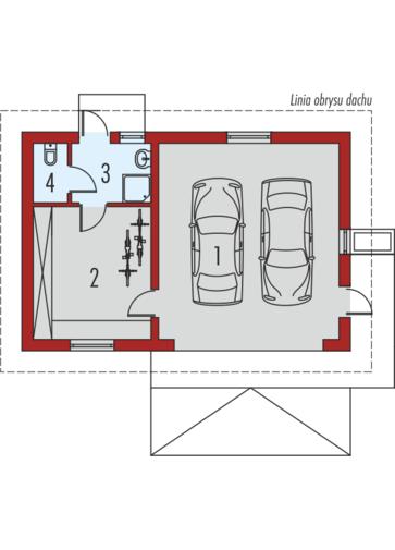 Garaż G38: Parter