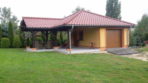 Projekty domów ARCHIPELAG - Garaż G25 (w. II)