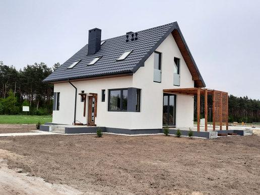 Projekty domów ARCHIPELAG - Lea (wersja A)