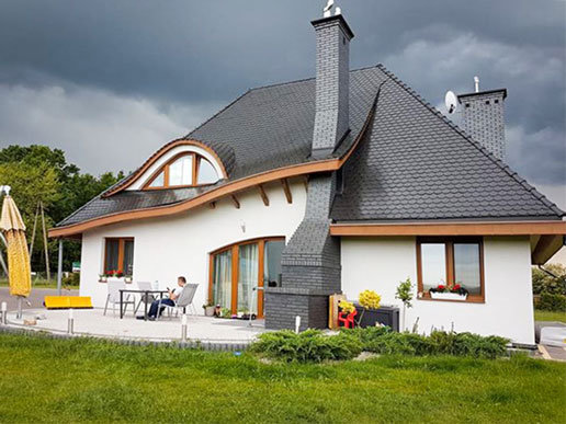 Projekty domów ARCHIPELAG - Mieszko