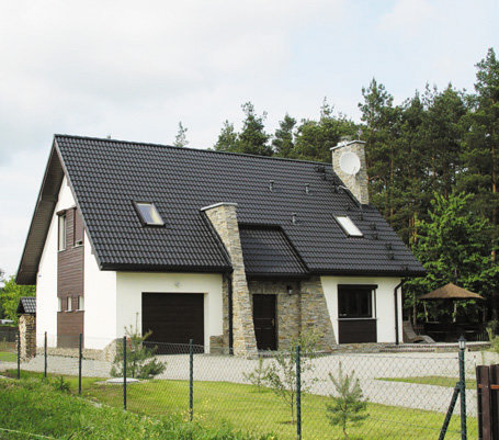 Projekty domów ARCHIPELAG - Basia G1