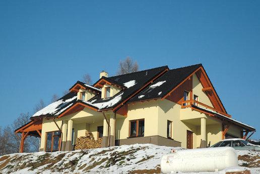 Projekty domów ARCHIPELAG - Elena