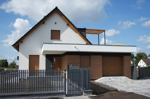 Projekty domów ARCHIPELAG - E13 G1 ECONOMIC
